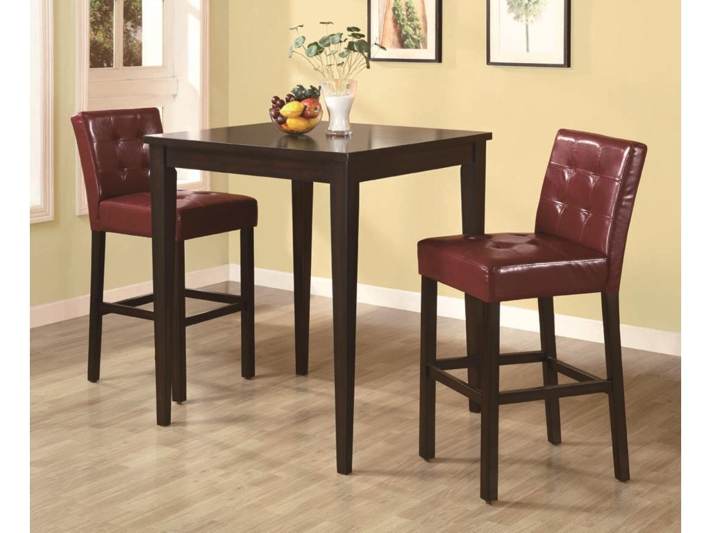 Shown with Bar Stools