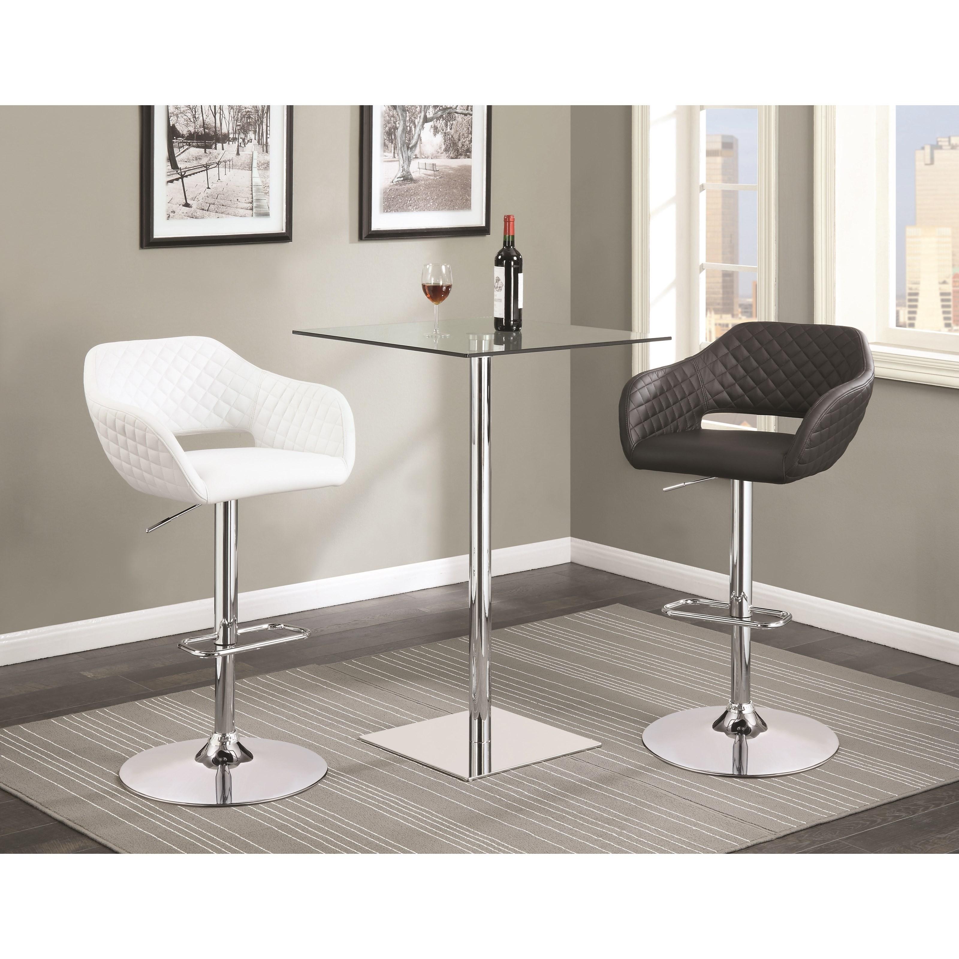 Coaster Bar Units And Bar Tables Contemporary Bar Table And Stool Set