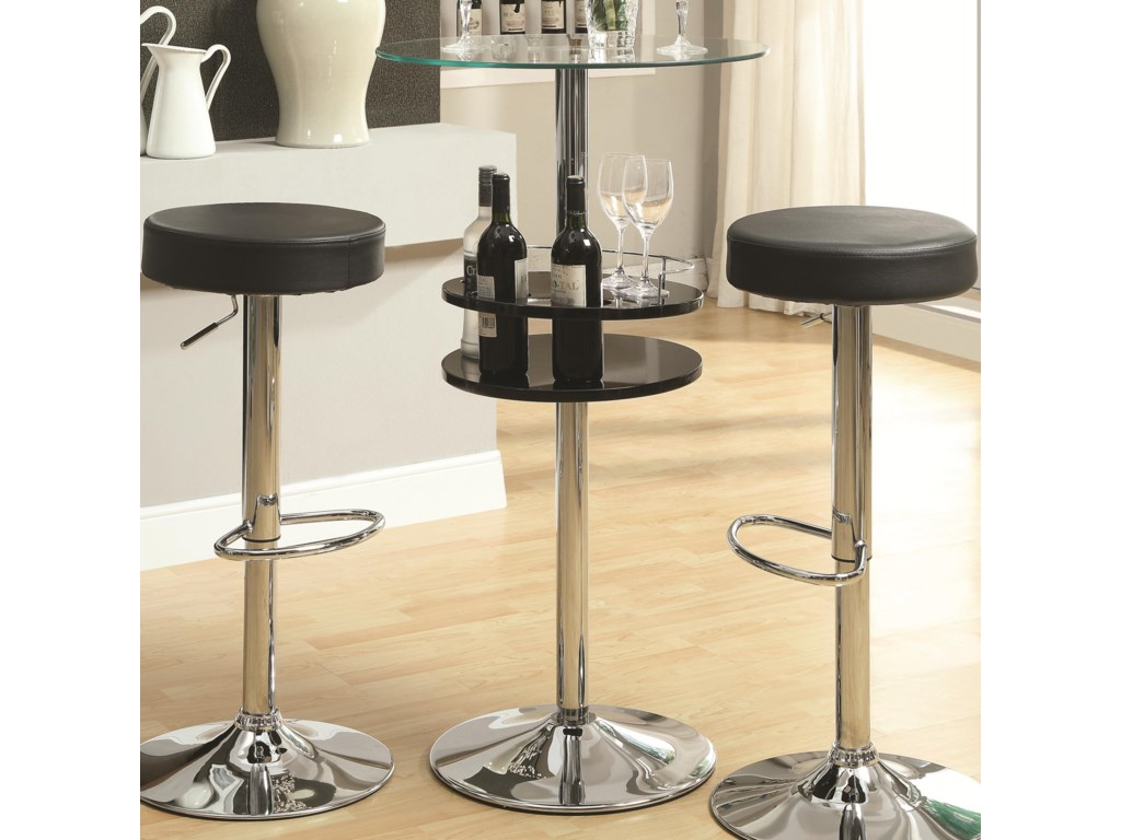 Coaster Bar Units And Tablack Table