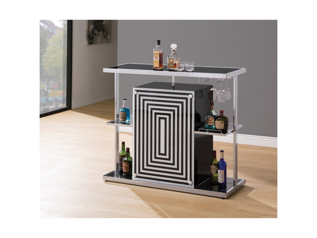 Coaster Bar Units and Bar TablesBar
