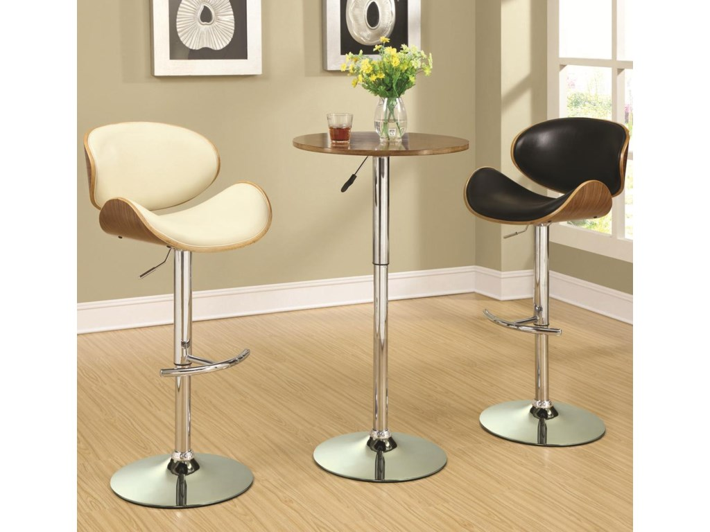 Coaster Bar Units and Bar TablesAdjustable Bar Stool