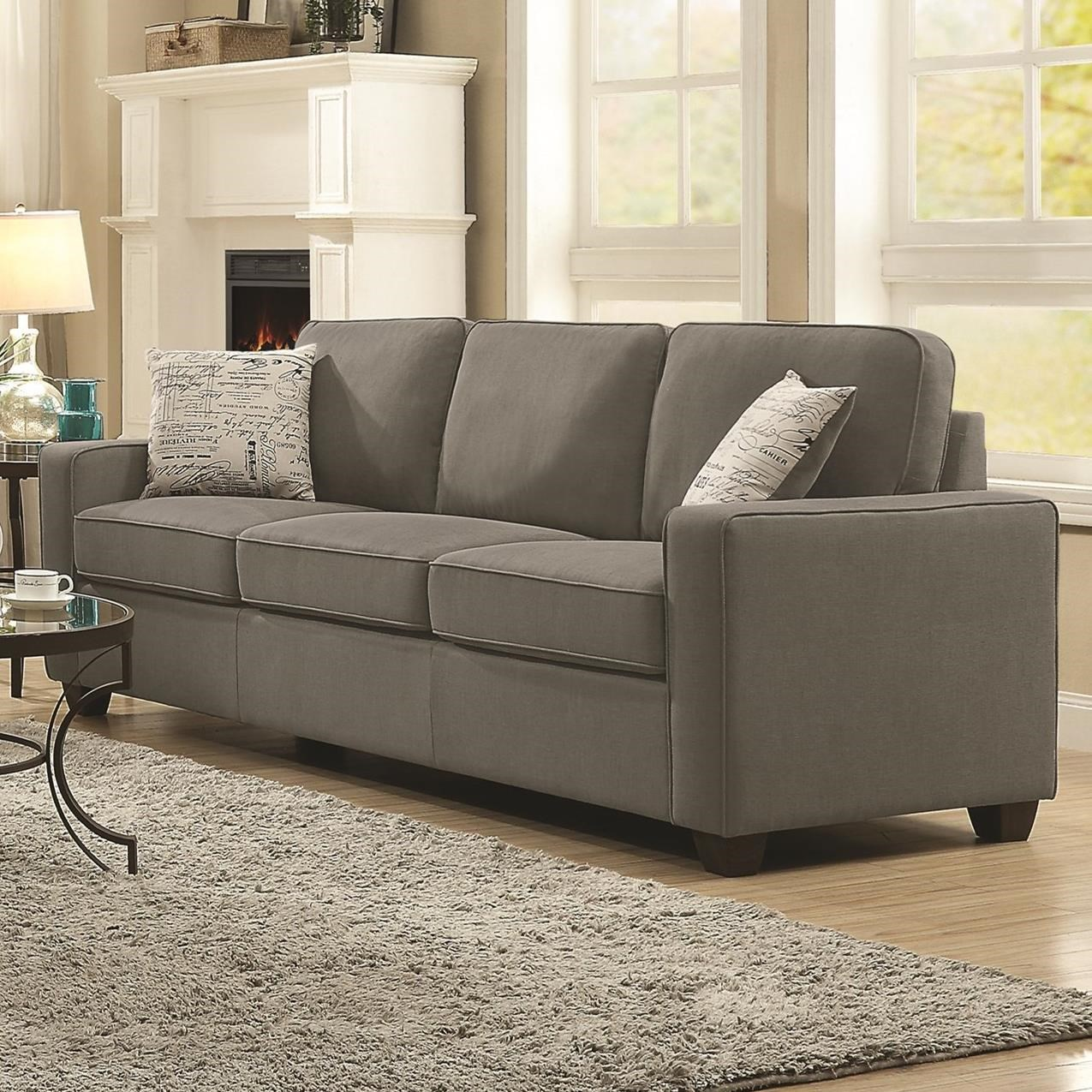 Coaster Bardem By Coaster Sofa Wth Casual Style