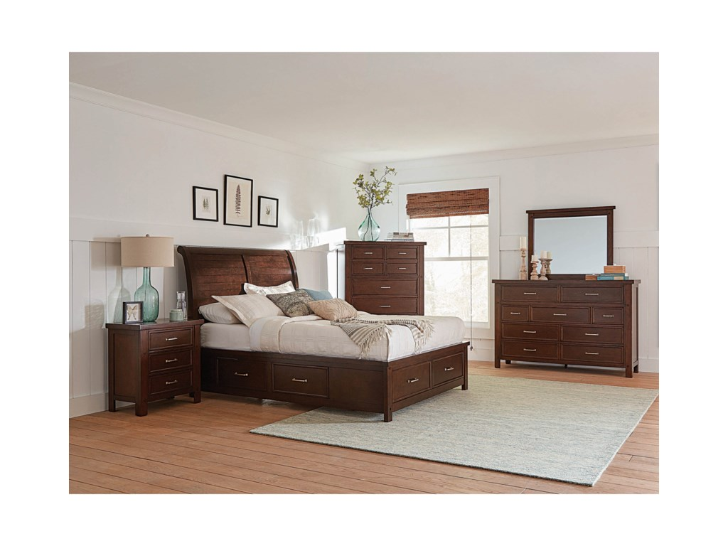 Coaster BarstowCalifornia King Bedroom Group