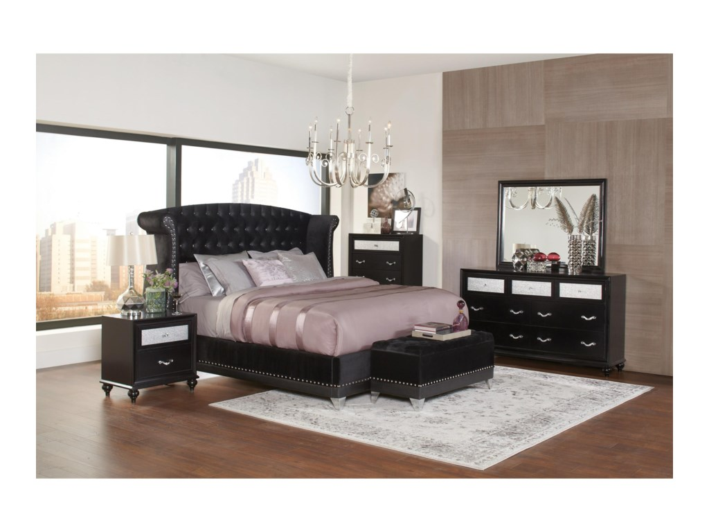 Coaster BarziniCalifornia King Bed