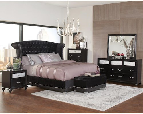 Coaster Barzini King Bedroom Group