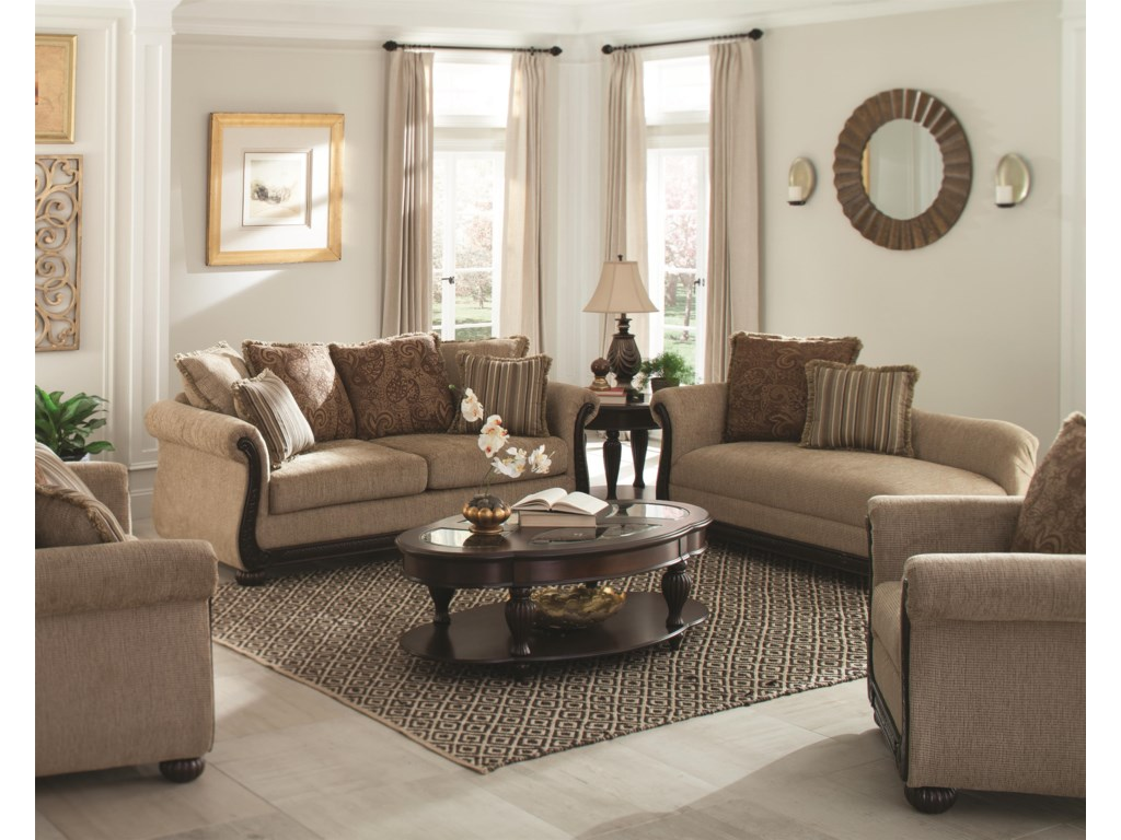 Loveseat Partially Shown, Chair Not Available