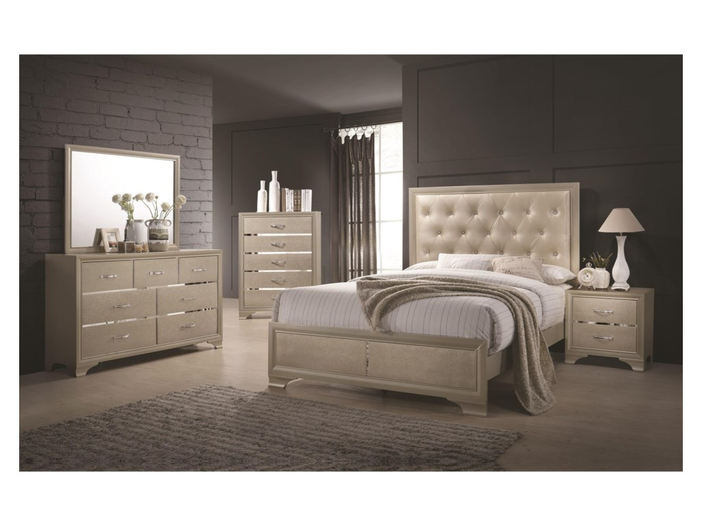 Coaster BeaumontQueen Bed