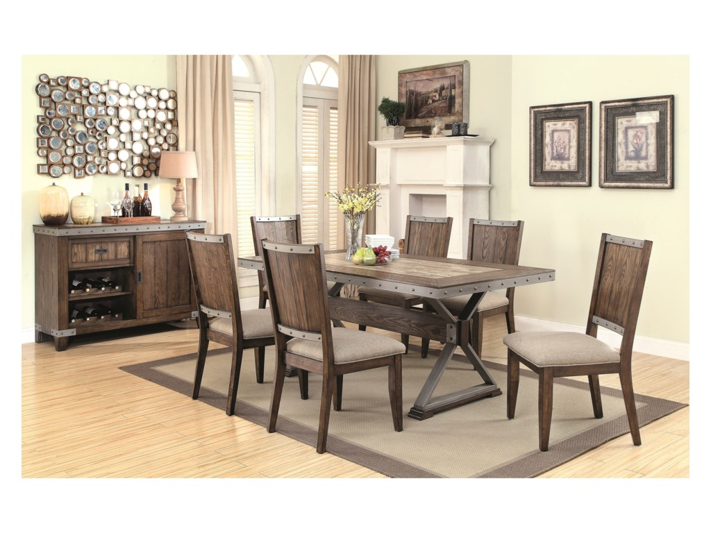 Finish Your Dining Room Look With An Area Rug