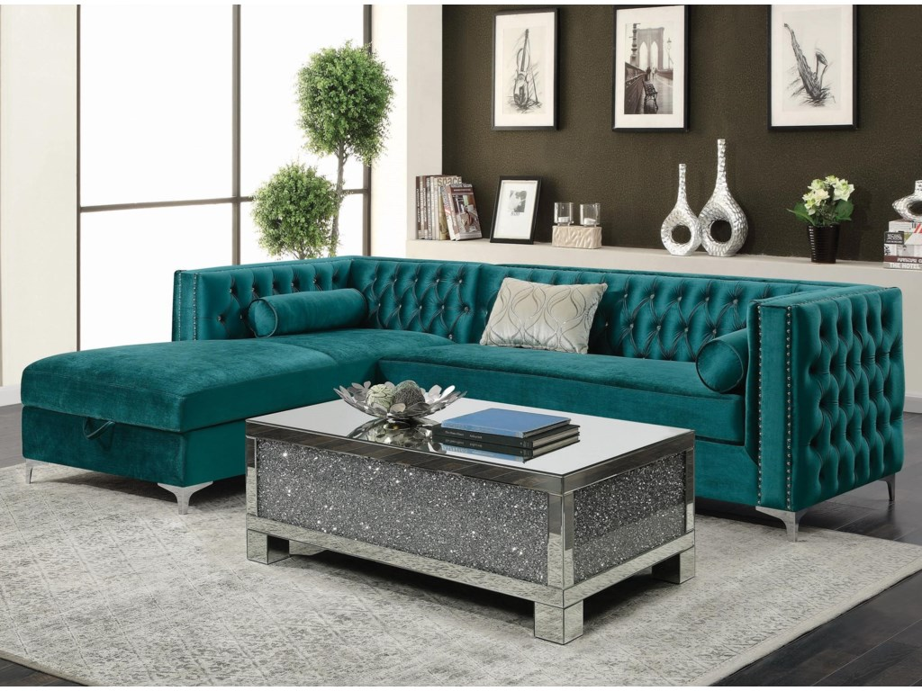 Coaster BellaireSectional