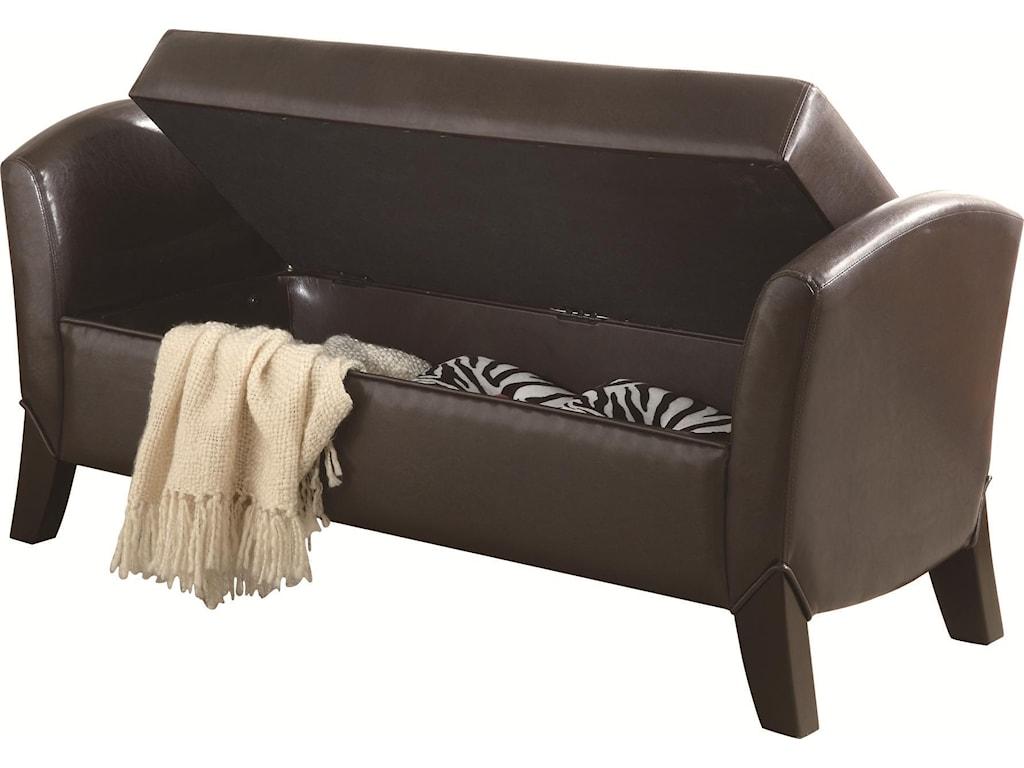 Coaster BenchesStorage Bench