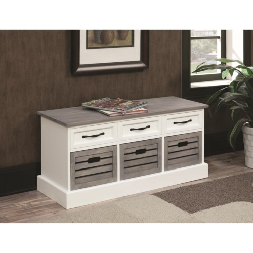 Coaster Benches Storage Bench Cabinet A1 Furniture Mattress Bench