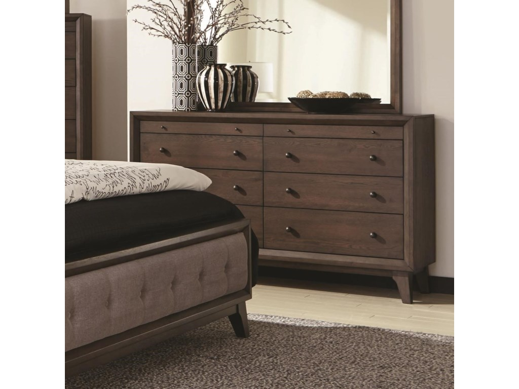 Rooms Collection Two Bingham8 Drawer Dresser