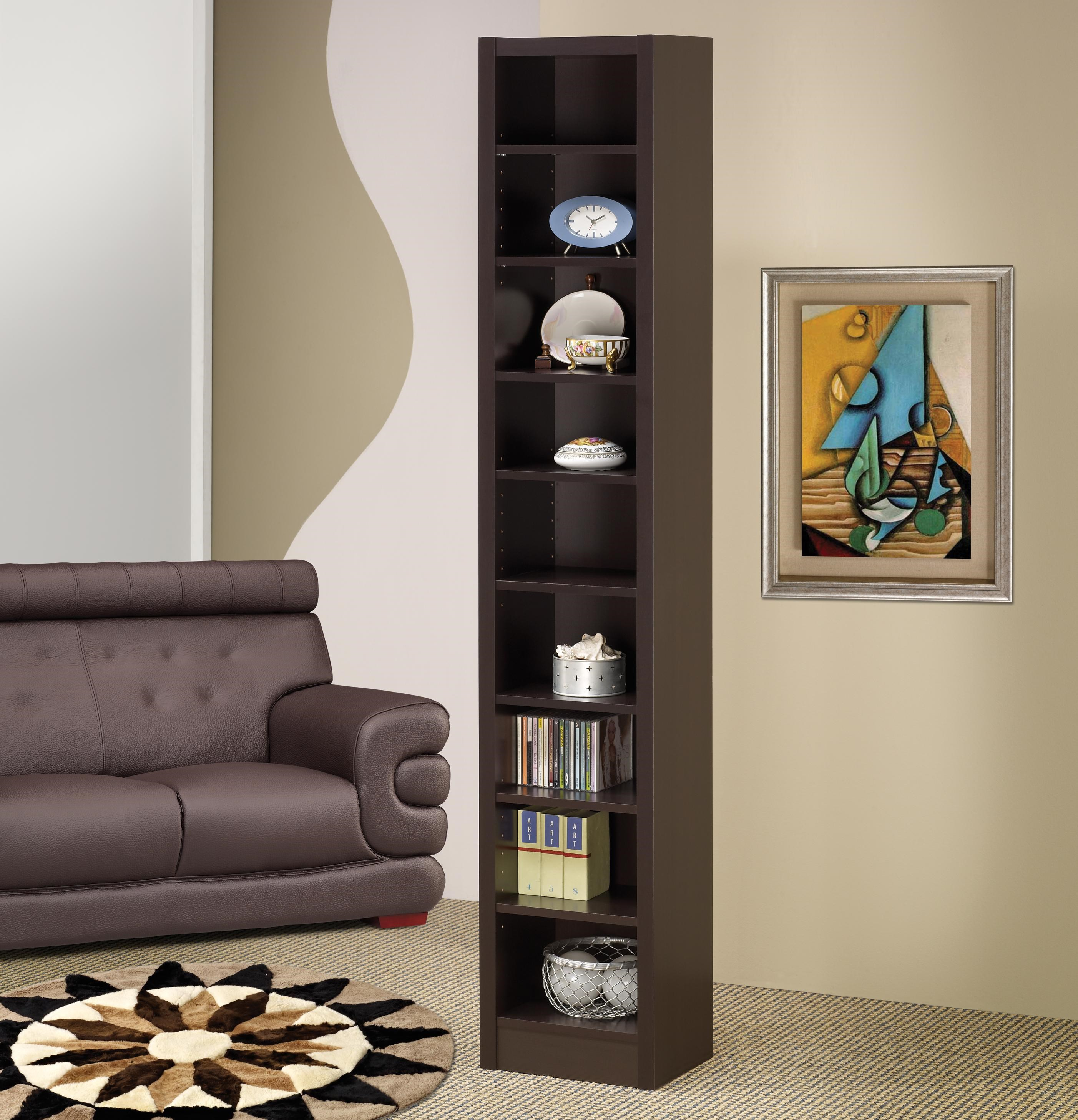 Coaster Home Furnishings 800270 Transitional Bookcase Cappuccino Bookcases