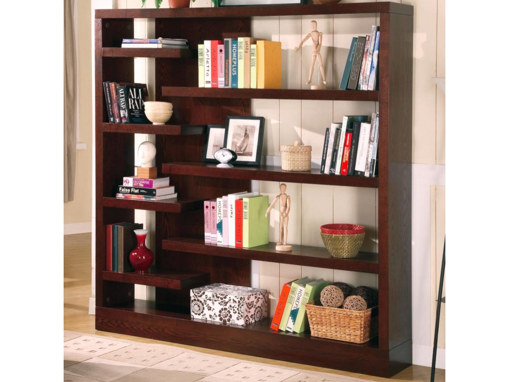 weathered store in online delivery open grey dfw index contempo color products furniture discount discounted bookcases b bookcase coas free coaster