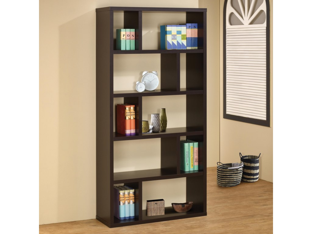 Bookcases Contemporary Bookshelf By Coaster