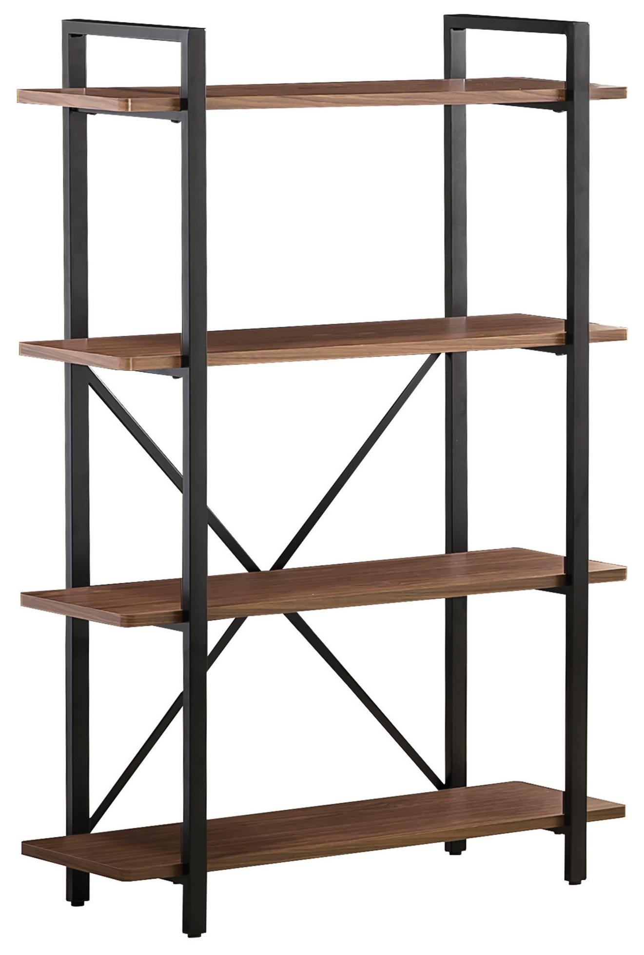 Coaster Bookcases Industrial Style Bookcase With 4 Shelves | Value City  Furniture | Open Bookcases