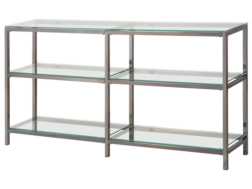 white bookcase specialties bookcases monarch glossy at shelf shop pd glass