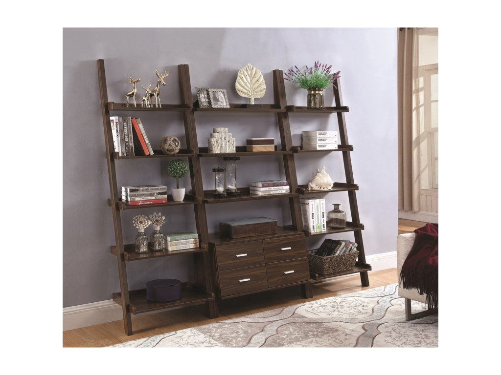 Coaster BookcasesLadder Bookcase Set