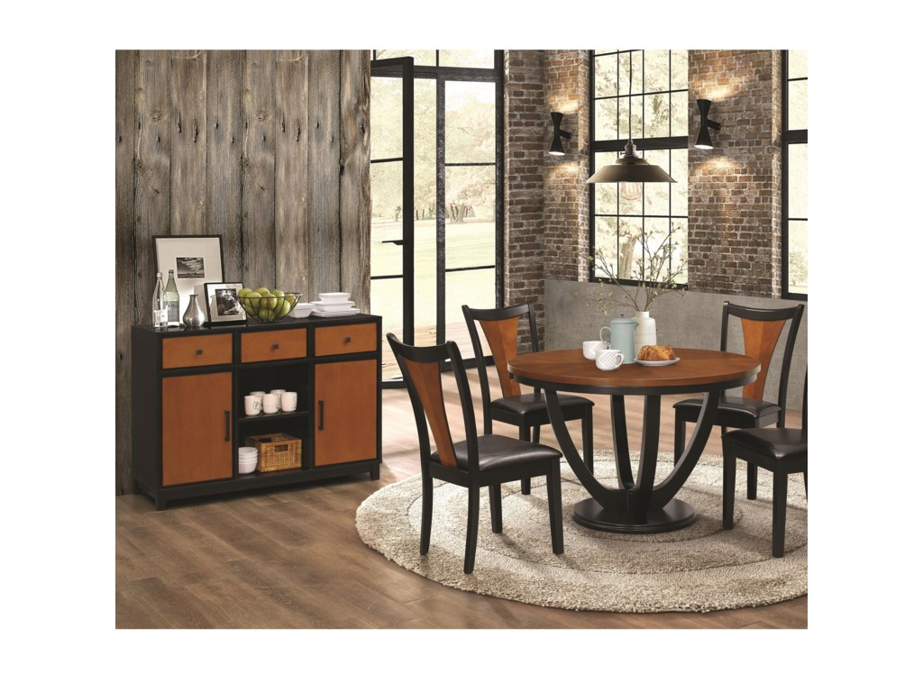 Coaster Boyer5 Piece Table and Chair Set