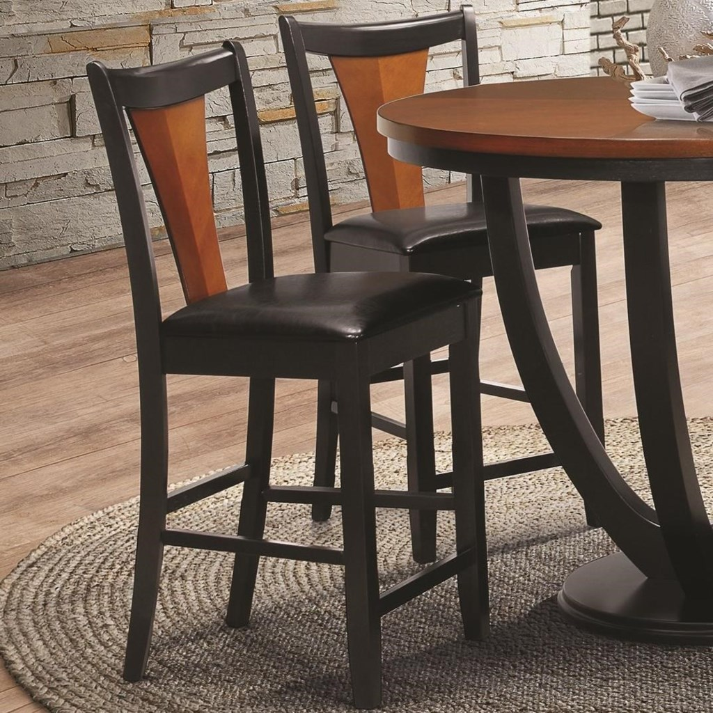 Boyer Contemporary Two Tone Bar Stool By Coaster At Value City Furniture