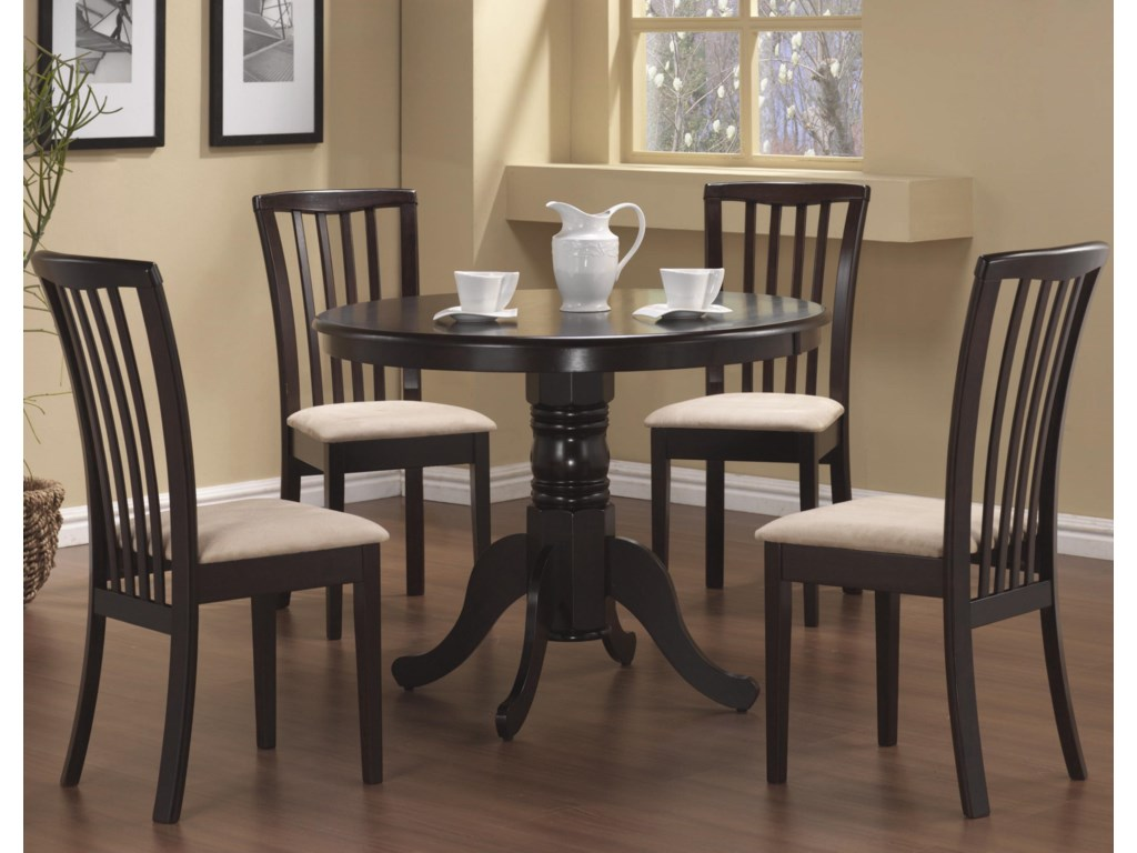 Coaster Brannan5 Piece Dining Set
