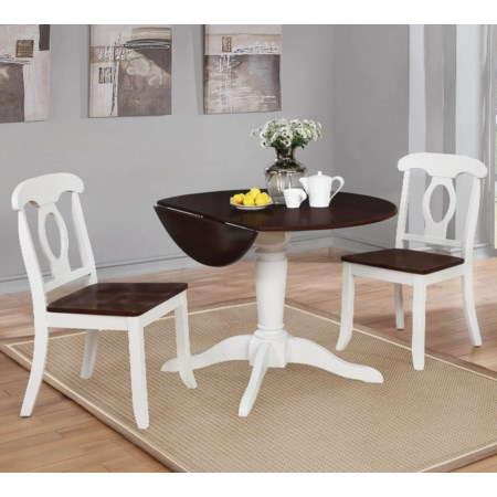 3-Piece Dining Table Set