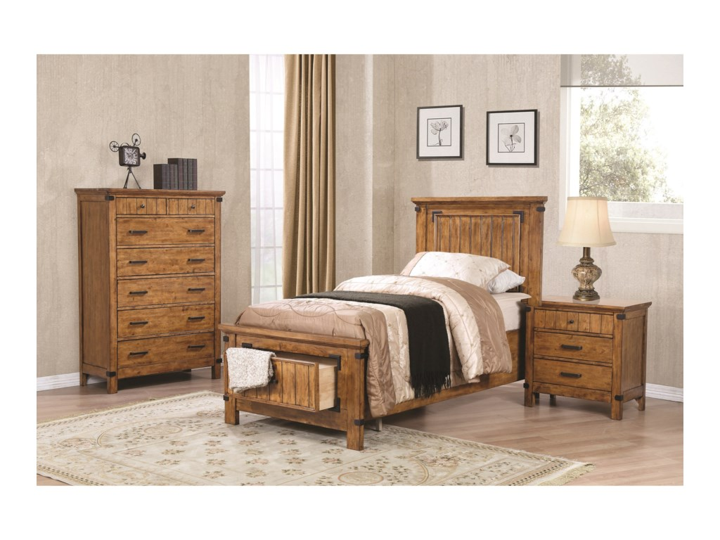 Coaster BrennerTwin Bedroom Group