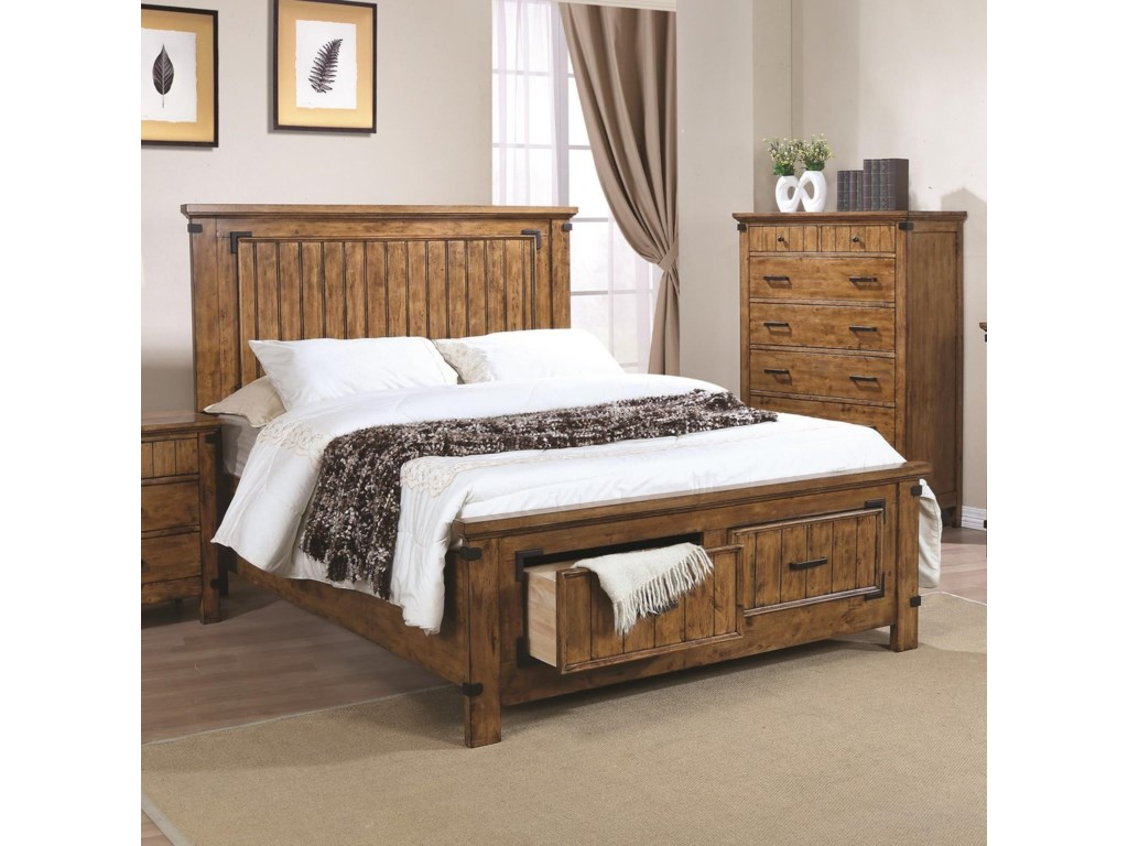 Coaster BrennerFull Storage Bed