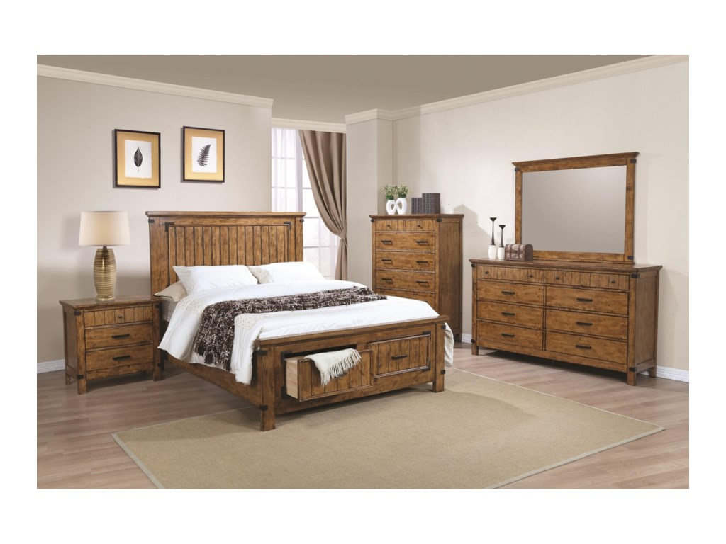 Coaster BrennerCalifornia King Storage Bed