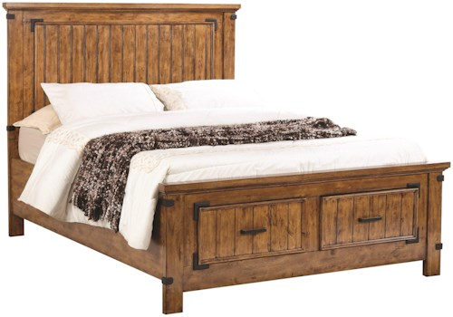Coaster Brenner Queen Storage Bed with Dovetail Drawers