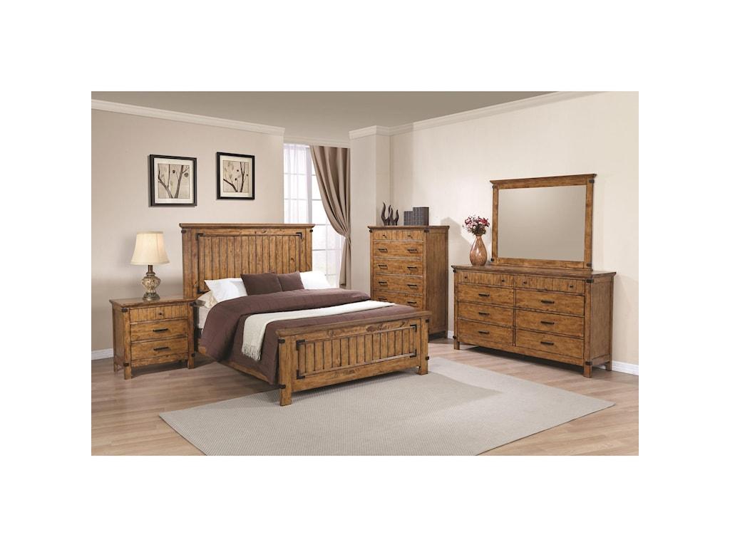 Coaster BrennerFull Panel Bed