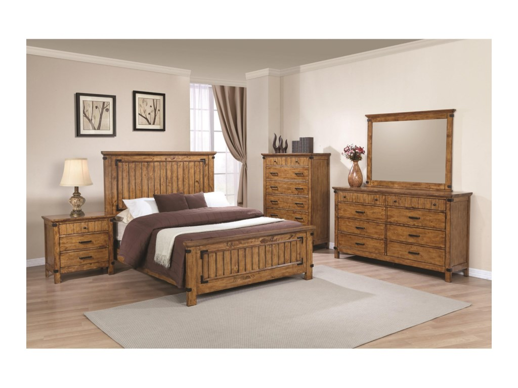 Coaster BrennerKing Panel Bed