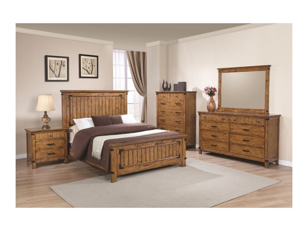 Coaster Brenner8 Drawer Dresser and Mirror