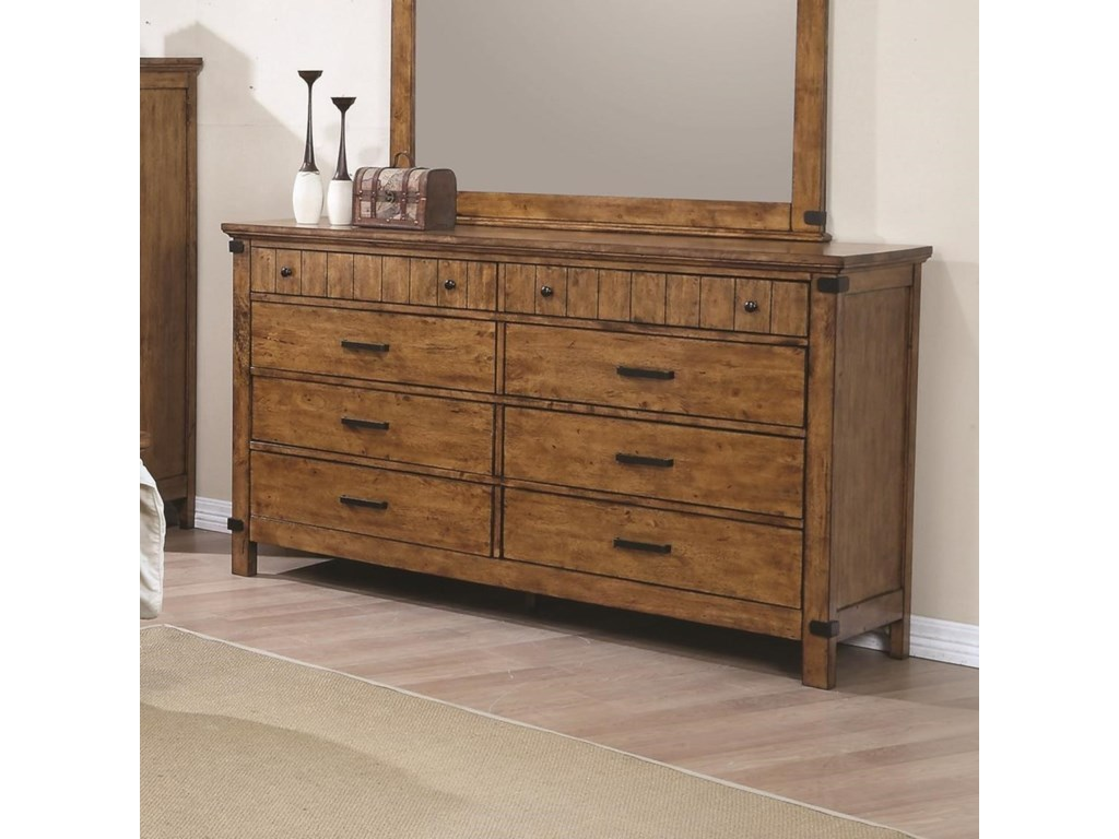 Coaster Brenner8 Drawer Dresser