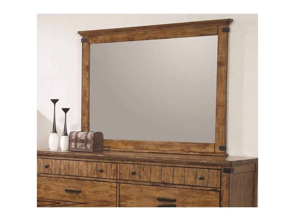 Coaster BrennerMirror with Wood Frame