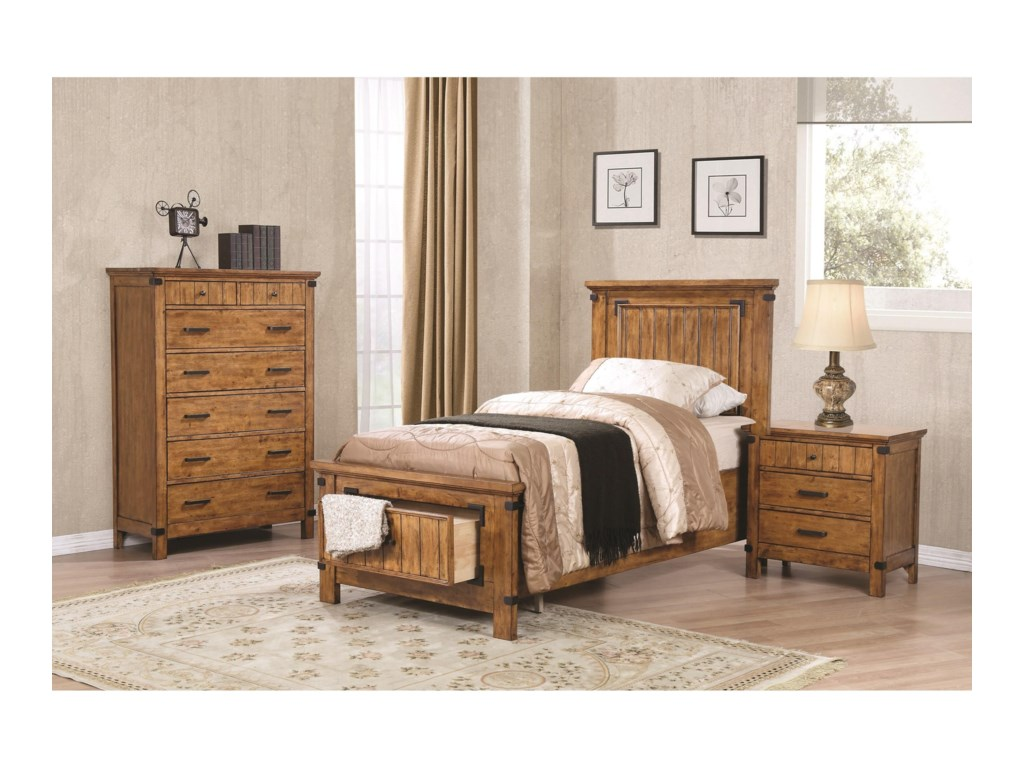 Coaster Brenner7 Drawer Chest