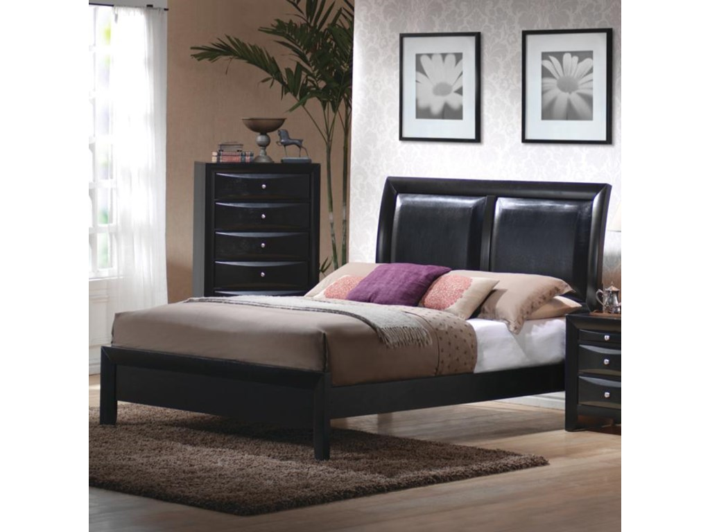 Coaster BrianaKing Platform Bed