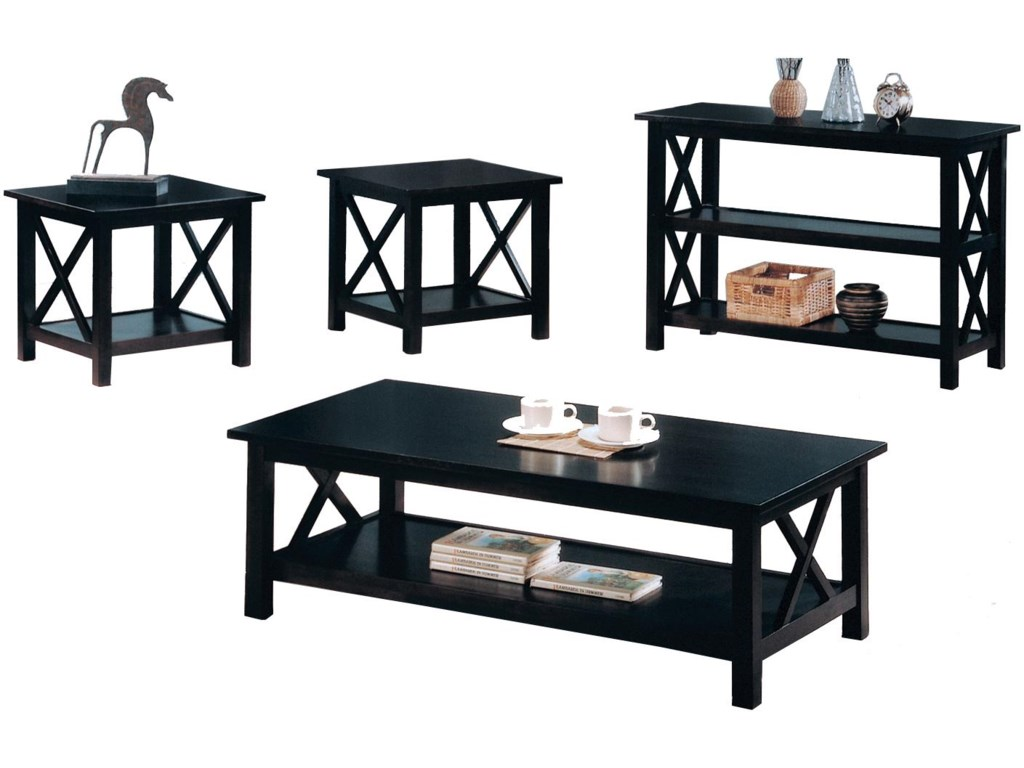 ROOMS # 2 Collection BriarcliffSofa Table