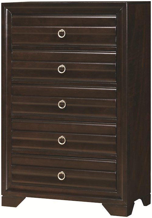 Coaster Bryce 20347 Chest of Drawers with 5 Drawers