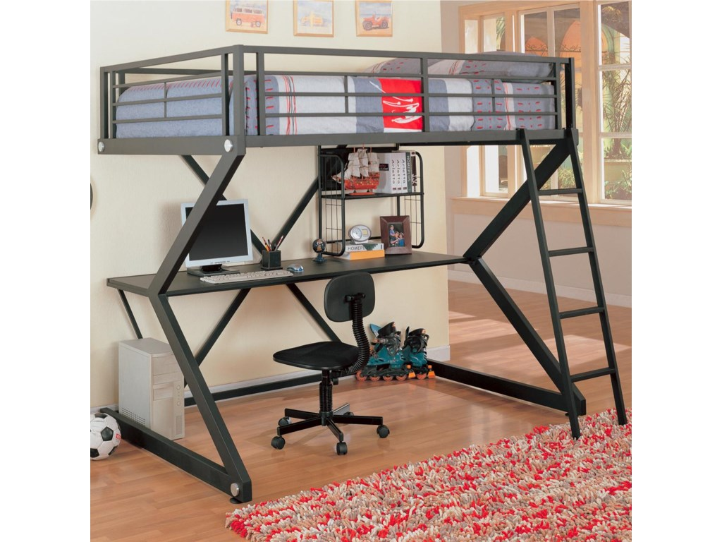 Coaster BunksWorkstation Loft Bed