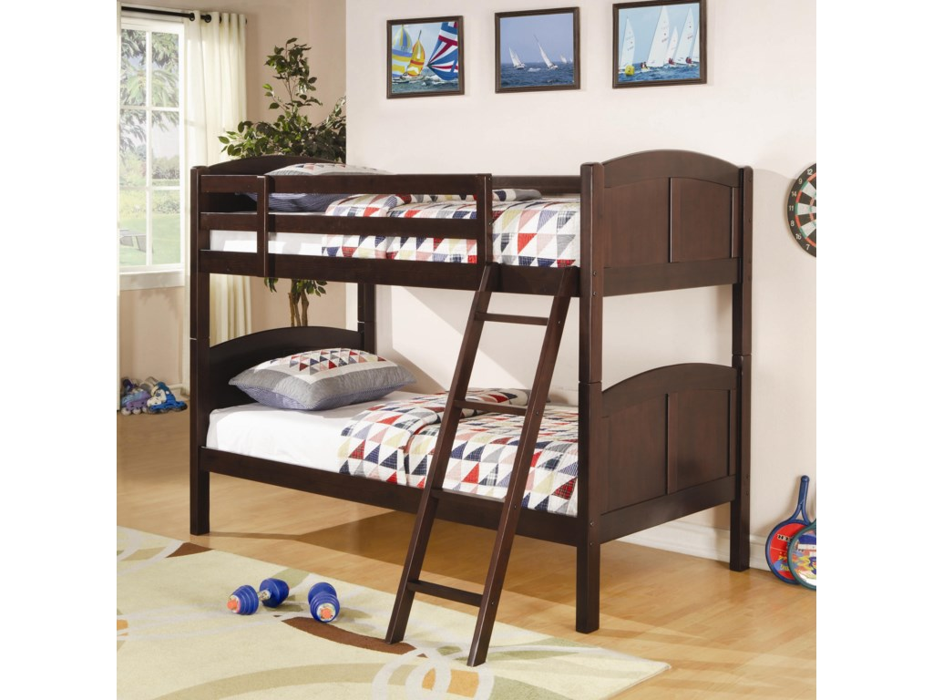 Coaster BunksTwin Bunk Bed