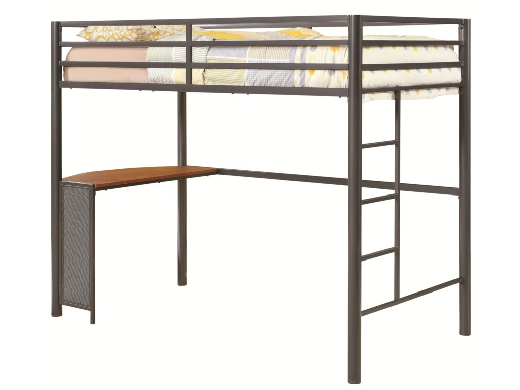 Coaster BunksTwin Workstation Bed