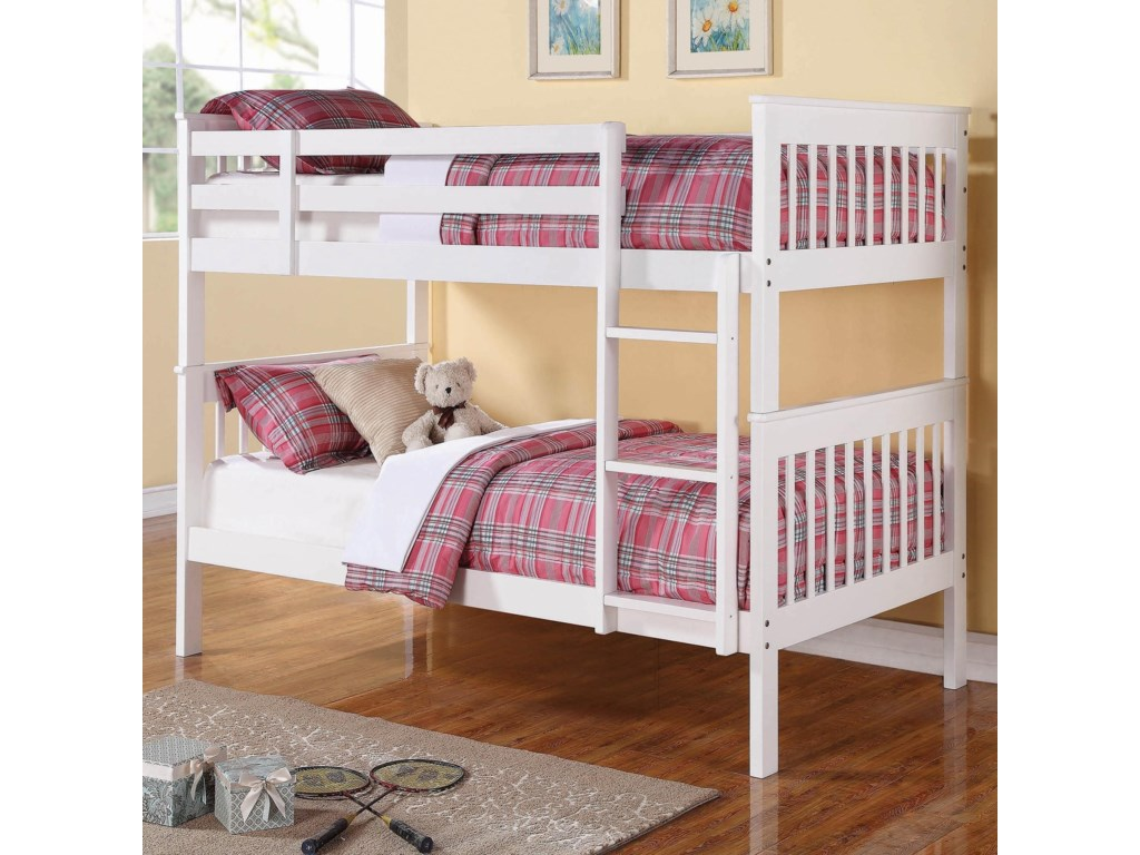 Coaster BunksChapman Twin/Twin Bunk Bed