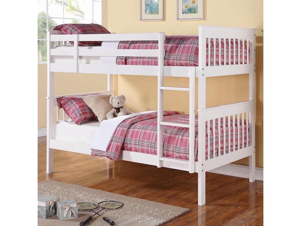 Coaster BunksChapman Twin/Twin Bunk Bed