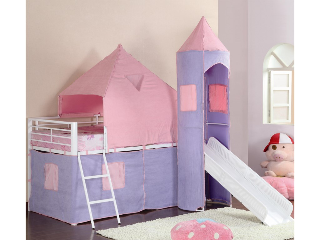Coaster BunksTwin Loft Bed
