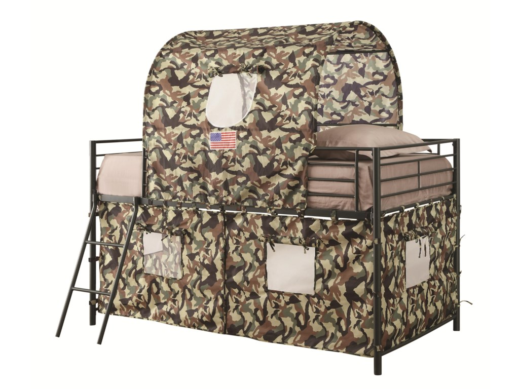Coaster BunksCamouflage Tent Bed