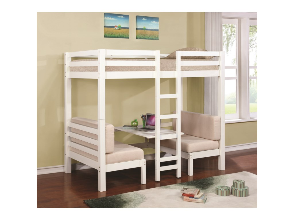 Coaster BunksConvertible Loft Bed