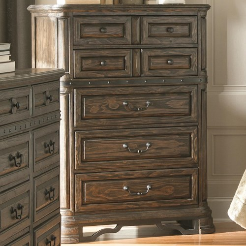 Coaster Carlsbad Chest of Drawers with 7 Drawers