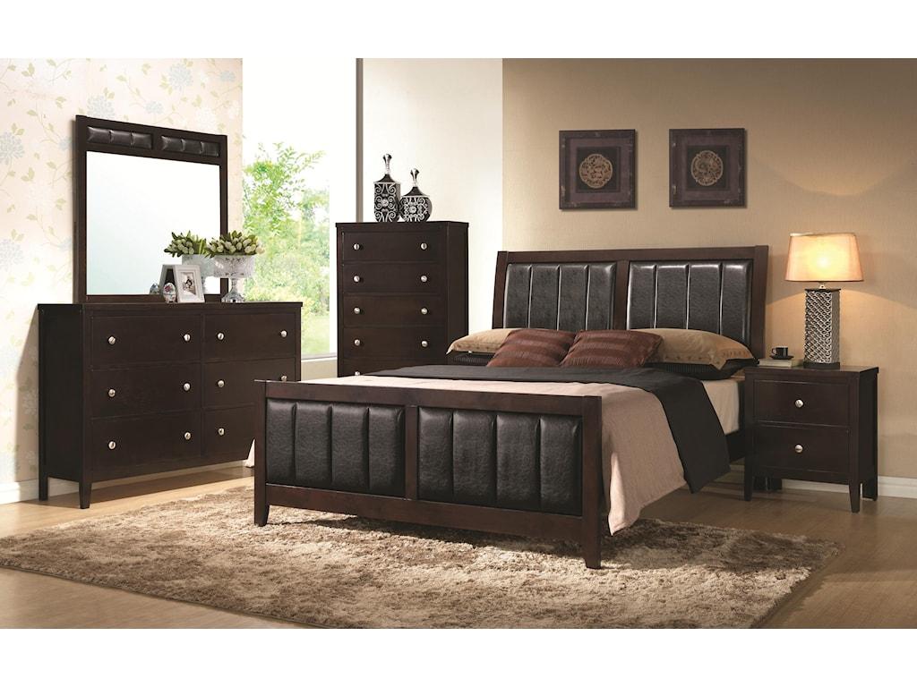 Coaster CarltonCalifornia King Bedroom Group