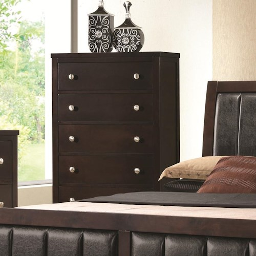 Coaster Carlton Chest of Drawers with 5 Drawers